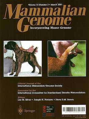Cover of Genetic Magazine